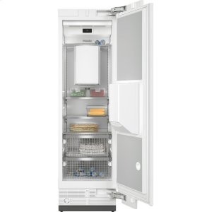 MieleF 2661 Vi - MasterCool™ freezer Integrated IceMaker features separate water and ice dispensers.