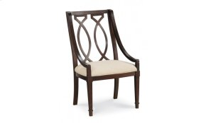 Intrigue Wood Back Arm Chair