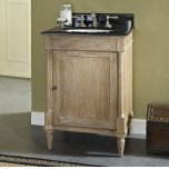 "FAIRMONT DESIGNSRustic Chic 24"" Vanity - Weathered Oak"