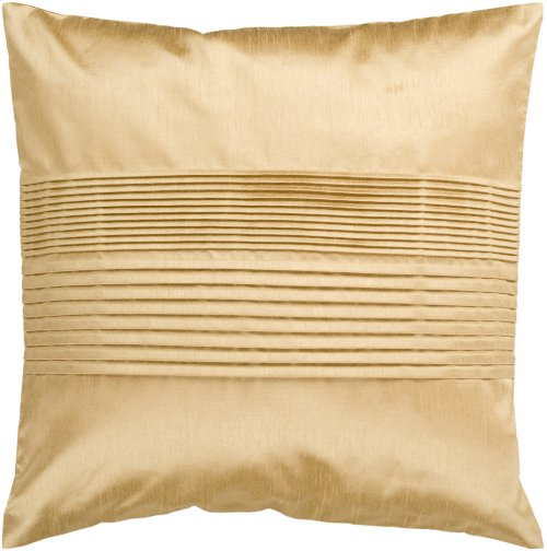 "Solid Pleated HH-022 18"" x 18"" Pillow Shell Only"