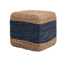 Hien Hyacinth Blue Stool