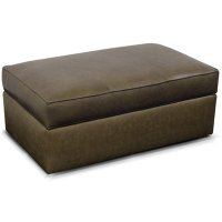 Leather Lachlan Cocktail Ottoman 24081AL Product Image