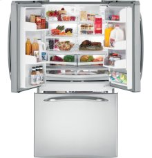 GE Profile ENERGY STAR® 25.1 Cu. Ft. French Door Refrigerator with External Water Dispenser