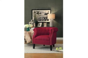 Accent Chair, Red