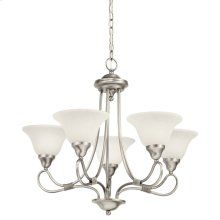 Stafford 5 Light Chandelier Antique Pewter