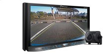 """2-DIN Flagship Multimedia DVD Receiver with 7"""" WVGA Touchscreen Display and included ND-BC8 Back-Up Camera"""