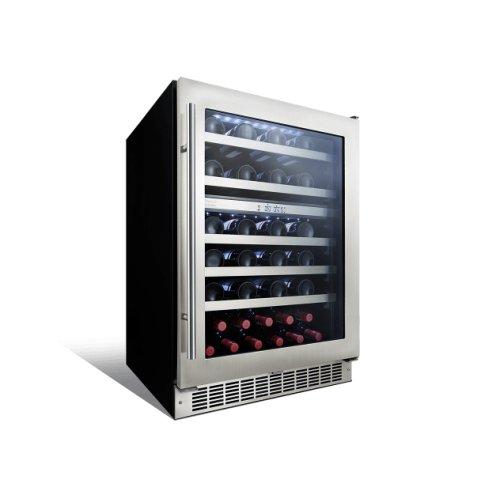 Sonoma 24 dual zone wine cellar.