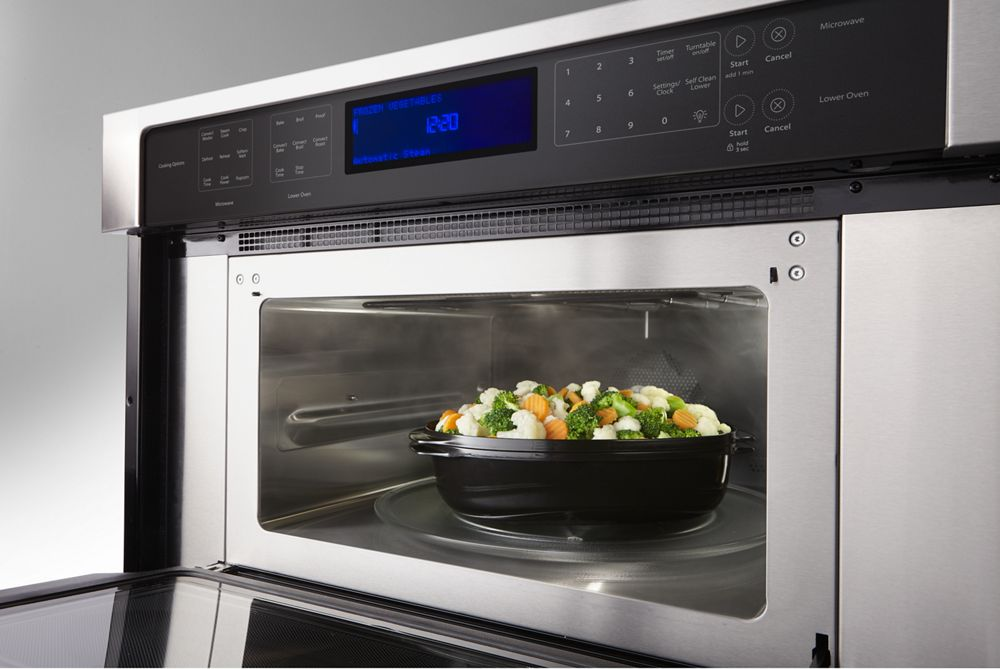 Combination Wall Oven With True Convection Microwave