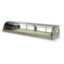 Display Case Refrigerator, Left Side Condenser