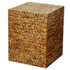 Sandy Cube Table, Natural