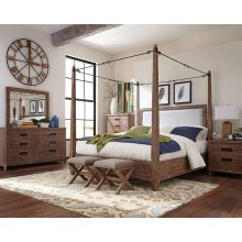 Madeleine Rustic Smoky Acacia Eastern King Five-piece Set