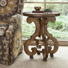 Studded Accent Table