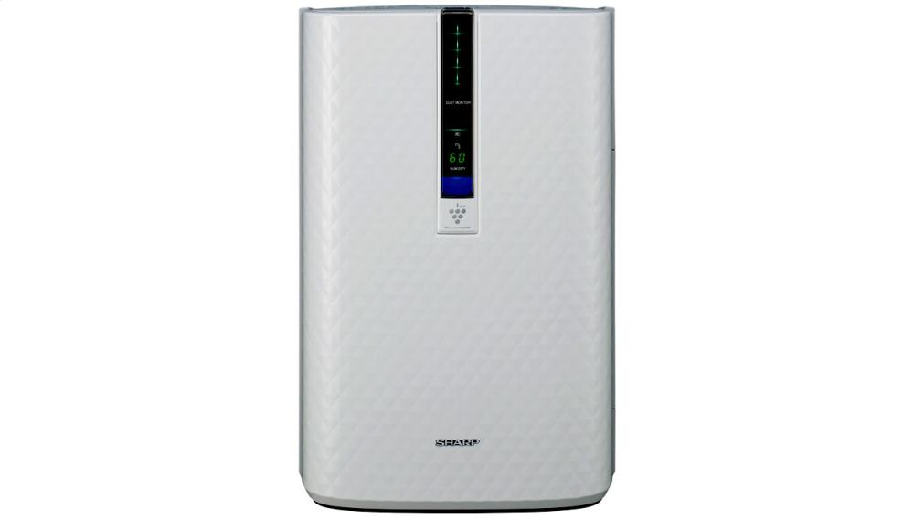 Sharp Plasmacluster(R) Air Purifier with Humidifying Function for Medium Rooms