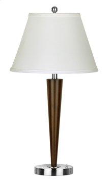 100W Murcia metal table lamp