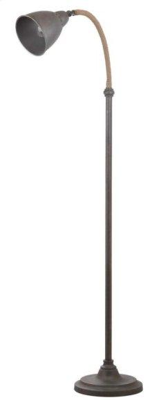 Naldo 60-inch H Floor Lamp - Dark Grey