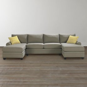 Double Chaise Sectional