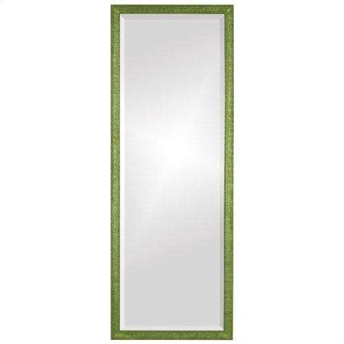 Colfax Mirror - Glossy Green