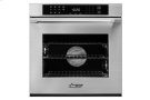 """Heritage 27"""" Single Wall Oven, Silver Stainless Steel with Epicure Style Handle Product Image"""