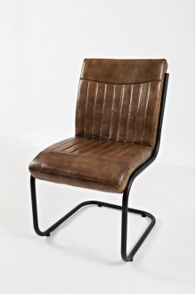 Aviator Genuine Leather Chair (2/ctn)