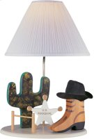Cowboy Lamp, Beige Type A 100w Product Image