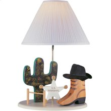 Cowboy Lamp, Beige Type A 100w