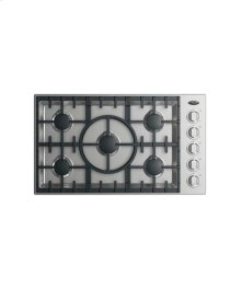 "36"" Drop-in Cooktop: 5 Burner"