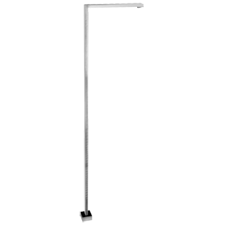 """Floor mounted washbasin spout, 1/2"""" connections - Spout projection 11-1/2"""""""