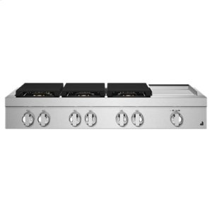 "Jenn-AirNOIR 48"" Gas Rangetop"