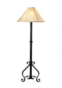 Iron Floor Lamp No Shade