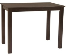 "30"" x 48"" Complete Table Rich Mocha"
