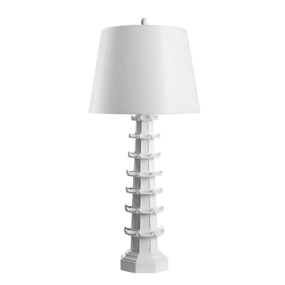 Brighton Lamp, White