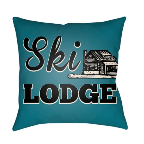 "Lodge Cabin LGCB-2038 18"" x 18"""
