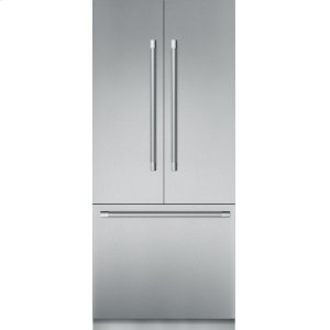 Thermador36-Inch Built-in Stainless Steel Professional French Door Bottom Freezer