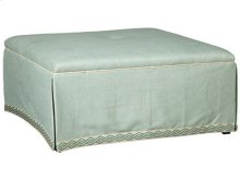 Paula Deen by Craftmaster Living Room Stationary Ottomans, Cocktail Ottomans