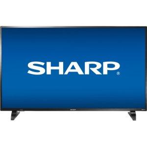 """Sharp50"""" Class (49.5"""" diag.) FHD Sharp Roku TV"""