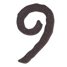 Jagged Hammered #9 - Aged Bronze