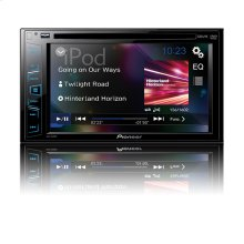"Multimedia DVD Receiver with 6.2"" WVGA Display"