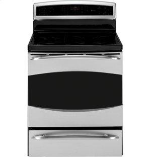 """Floor Display GE Profile™ 30"""" Free-Standing Electric Range"""