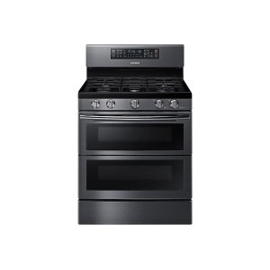 Samsung5.8 cu. ft. Flex Duo with Dual Door Freestanding Gas Range