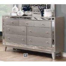 Leighton Contemporary Seven-drawer Dresser