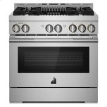 """JENN-AIRRISE 36"""" Gas Professional-Style Range with Grill"""
