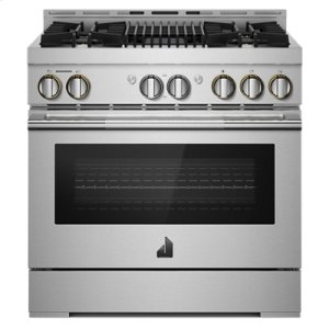 "Jenn-Air36"" RISE Gas Professional-Style Range with Infrared Grill"