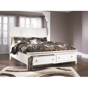 Ashley Furniture Prentice - White 3 Piece Bed Set (Queen)