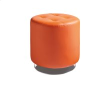 Domani Swivel Ottoman Small - Orange