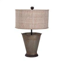 Tin Simple Bucket Lamp