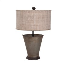 Tin Simple Bucket Lamp