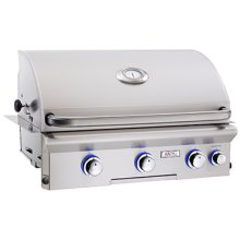 "Cooking Surface 540 sq. inches (30"" x 18"") Built-in Grill"