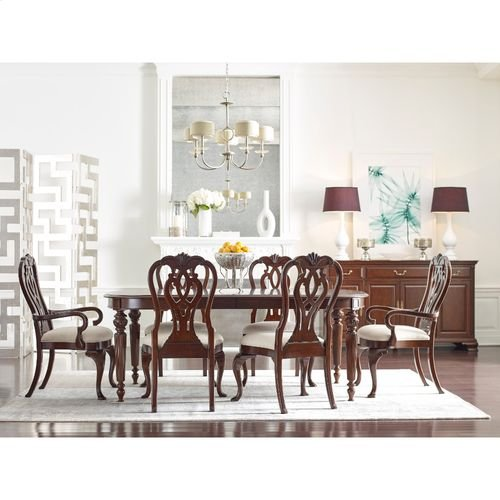 """Hadleigh Oval Dining Table W/ 2 20"""" Leaves"""