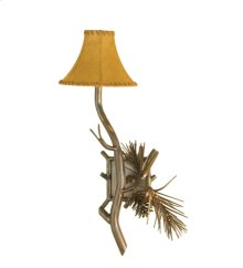 "9""W Lone Pine Wall Sconce"