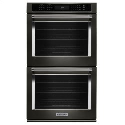 """27"""" Double Wall Oven with Even-Heat True Convection - Stainless Steel with PrintShield™ Finish"""